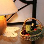Lampe et décoration gîte de Fournels en Lozère