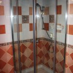 Salle de bain gîte de Fournels en Lozère