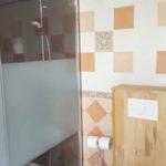 Salle de bain au Gite de Fournels